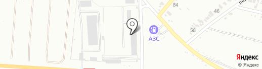 ТИР-Сервис, автокомплекс на карте Харцызска