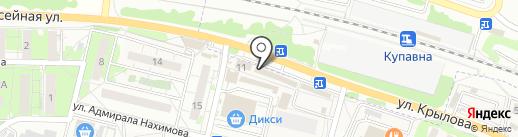 Букет Бутик на карте Железнодорожного