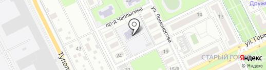 Гимназия №1 на карте Жуковского