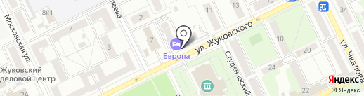 Следственный отдел на карте Жуковского