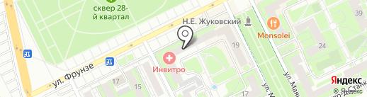 Единая Россия на карте Жуковского