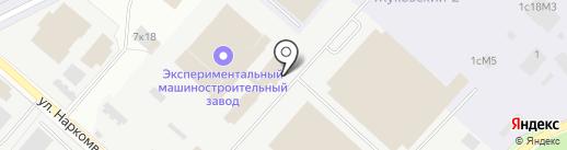 Экспериментальный машиностроительный завод им. В.М. Мясищева на карте Жуковского