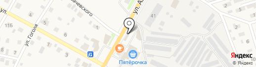 Магазин овощей и фруктов на карте Красноармейска