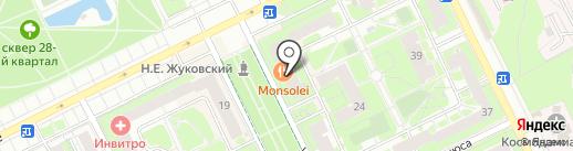 Авиационное ФГУП МЧС России на карте Жуковского