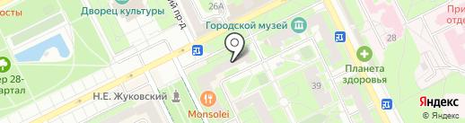 Леди на карте Жуковского