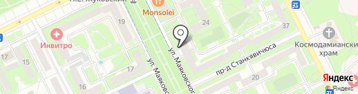 Франсуаза на карте Жуковского