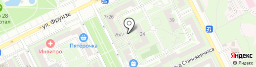 Радуга на карте Жуковского