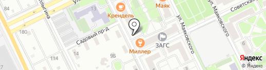 Банкомат, Московский кредитный банк, ПАО на карте Жуковского