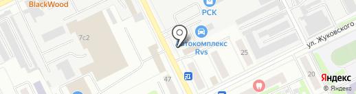 Юнап-Мебель на карте Жуковского