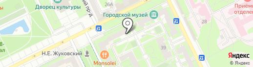 Скора на карте Жуковского