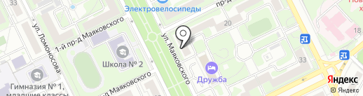 На Маяковского на карте Жуковского