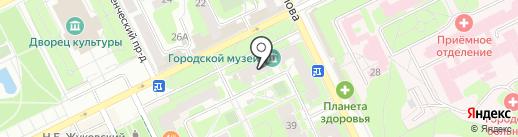 1000 мелочей на карте Жуковского