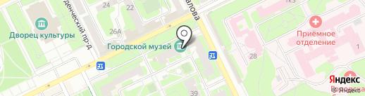 Жуковский музей истории покорения неба на карте Жуковского
