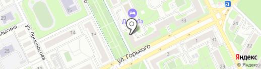 Ева на карте Жуковского