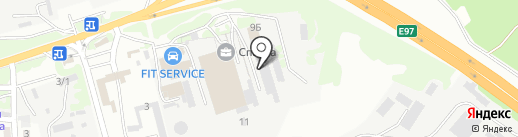 Мебельком на карте Геленджика