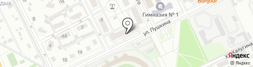 Седмица на карте Жуковского
