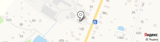 Морава на карте Трубино