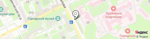 EuroPlat на карте Жуковского