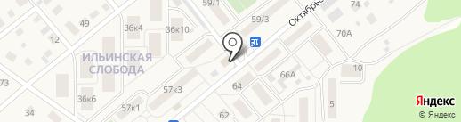 Qiwi на карте Ильинского