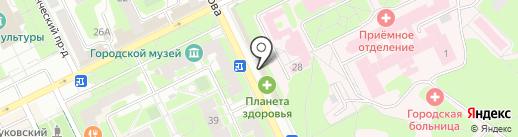 Билайн на карте Жуковского