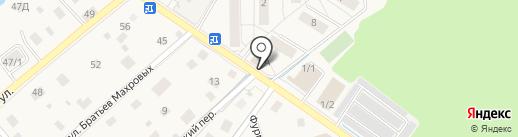 Берёзка на карте Ильинского