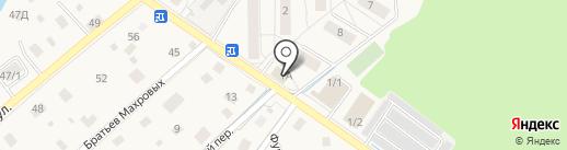 Ильинский пункт полиции на карте Ильинского