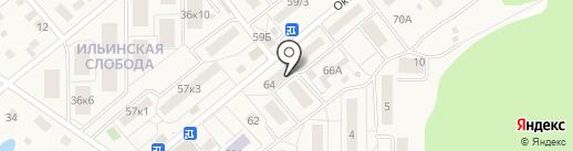 Добрый доктор на карте Ильинского