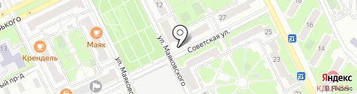 Джулия на карте Жуковского