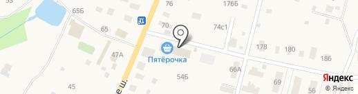 Жасмин на карте Трубино