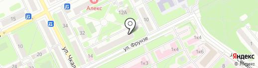 Арго на карте Жуковского
