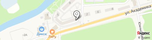 Сирень на карте Красноармейска