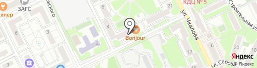 АКБ Банк ГОРОД на карте Жуковского