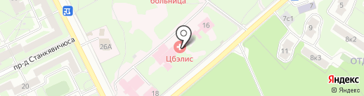 ЦБЭЛИС на карте Жуковского