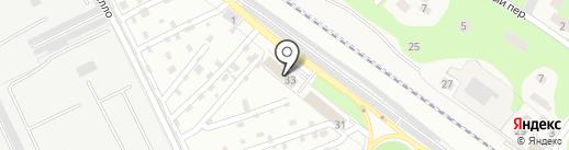 Навигатор на карте Жуковского