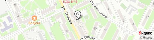 Simplex-Мастер на карте Жуковского