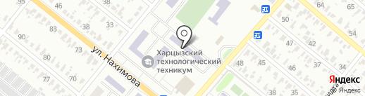 Общежитие на карте Харцызска
