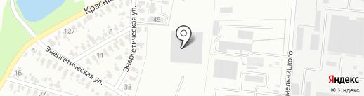 ДВМ-Дом на карте Харцызска