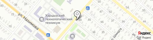 Викис на карте Харцызска