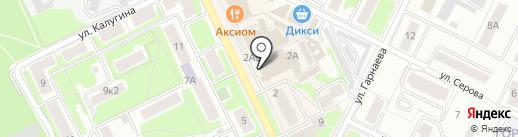 Магазин игрушек на карте Жуковского