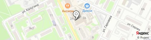 Магазин чулочно-носочных изделий на карте Жуковского