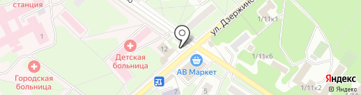 Via stilo на карте Жуковского