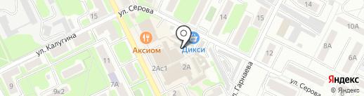 Ломбард Гелюта на карте Жуковского