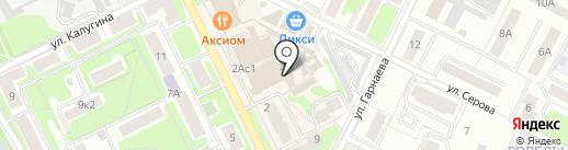 Мастерская по ремонту одежды на ул. Чкалова на карте Жуковского