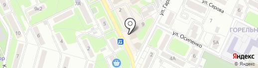 Магазин фруктов и овощей на карте Жуковского