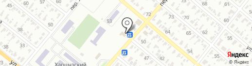 Глобус, магазин на карте Харцызска