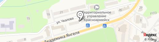 Перспектива Риэлт на карте Красноармейска