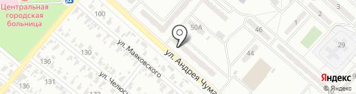 Имидж, салон-парикмахерская на карте Харцызска