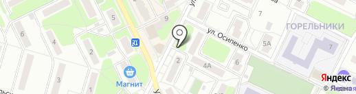 Магазин овощей и фруктов на ул. Гарнаева на карте Жуковского