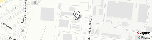 Колир, транспортная компания на карте Харцызска