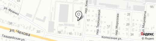 УКРАИНСКИЙ БИЗНЕС БАНК на карте Харцызска